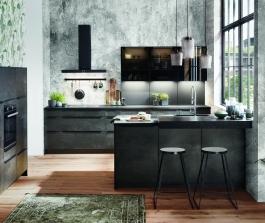 Moderní imitace betonu vdechne vaší kuchyni duši