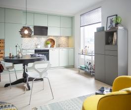 Kuchyně a technická místnost jako inteligentní řešení malého bytového prostoru