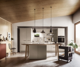 Obývací pokoj s kuchyní: Inspirace od next125