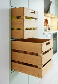 Schuller C collection BIE 2 Stylové a praktické řešení kuchyně s úložnými prostory.