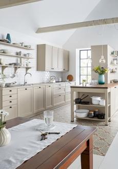 Schuller C collection CAA Stylové a praktické řešení kuchyně s úložnými prostory.