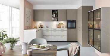 Schuller C collection TAR Stylové a praktické řešení kuchyně s úložnými prostory.