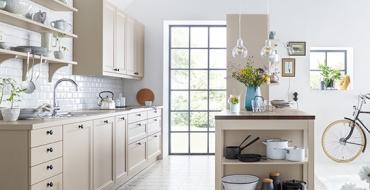 Schuller C collection CAA 2 Stylové a praktické řešení kuchyně s úložnými prostory.
