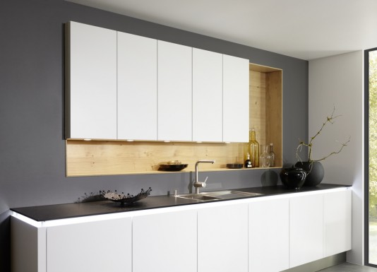 Puristické, kvalitní designové kuchyně MATRIX ART od zavedené německé značky Nolte