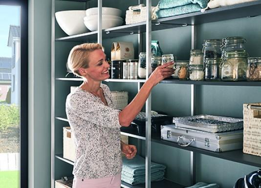 Chytrá technická místnost vám zajistí dostatek prostoru pro skladování věcí. Vždy po ruce