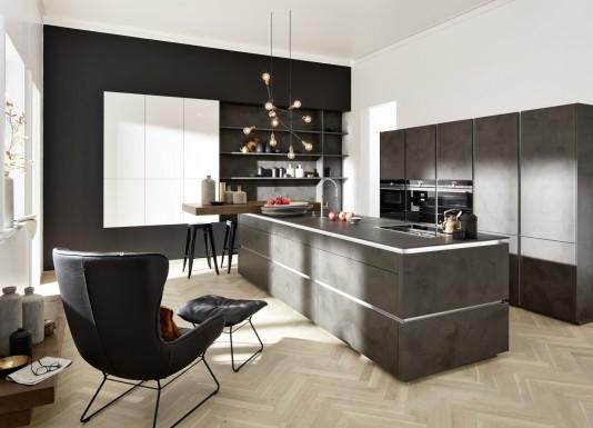 Imitace betonu následuje aktuální trendy s důrazem na čistý design a funkčnost.
